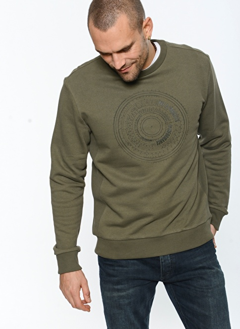 People By Fabrika Sweatshirt Haki